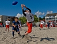 Beachfootball Turnier Flagspieler