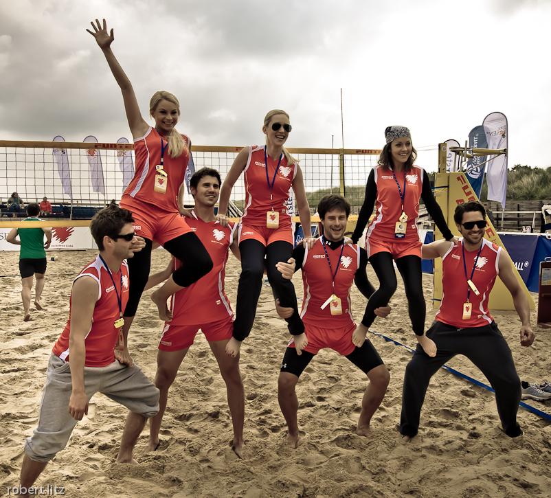 Beach Vollesball Starcup 2011 / rot