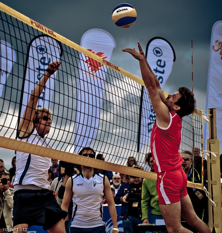 Beach Vollesball Starcup 2011 / Netz rot