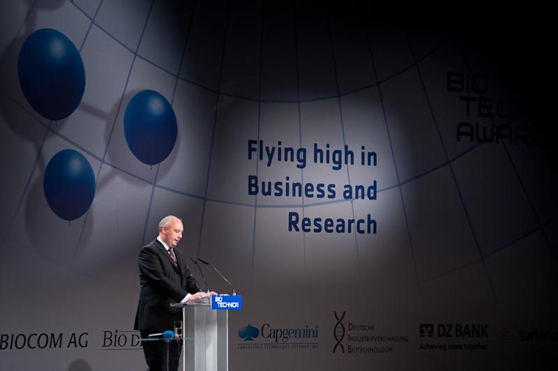 Biotechnica /Redner