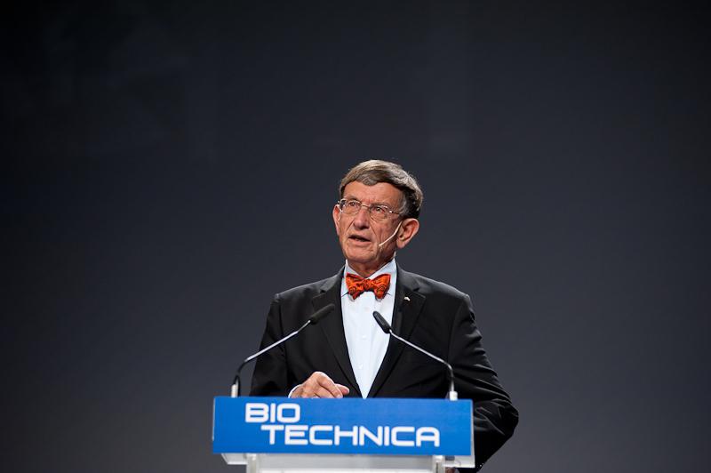 Prof. Dr. Riesenhuber BioTechnica 2011