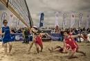 Beach Vollesball Starcup 2011 /im Sand rot
