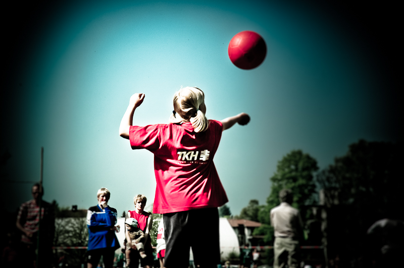 TKH Faustball Roter Ball